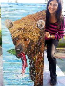 Deb and Bear